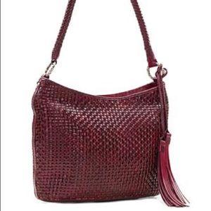 Patricia Nash Leather weave purse